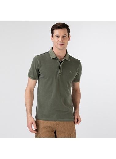 Lacoste Erkek Regular Fit Tişört PH0108.08H Yeşil